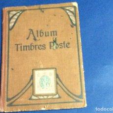Sellos: ALBUM ILLUSTRÉ DE TIMBRES - POST, 189?. Lote 133519782