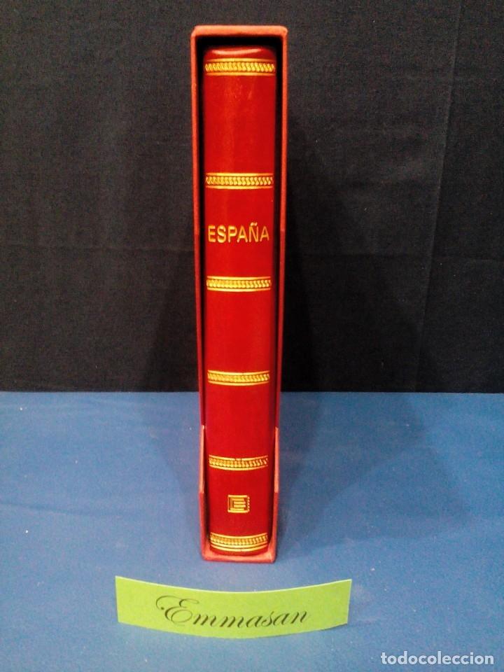 Sellos: ÁLBUM EDIFIL ESPAÑA CON HOJAS ANFIL 1961 HASTA 1969.** COMPLETO - FILO-ESTUCHES, VER DESCRIP. VIDEO - Foto 2 - 133846666