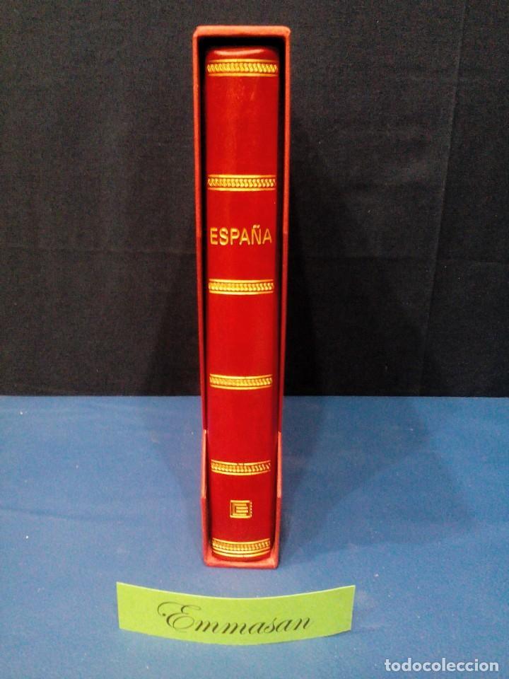 Sellos: ÁLBUM EDIFIL ESPAÑA CON HOJAS ANFIL 1981 HASTA 1990.** COMPLETO - FILO-ESTUCHES, VER DESCRIP. VIDEO - Foto 2 - 133963762