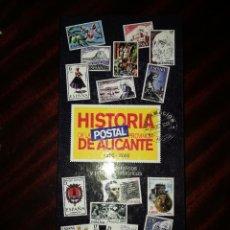 Sellos: HISTORIA DE LA POSTAL PROVINCIA DE ALICANTE . Lote 135442238