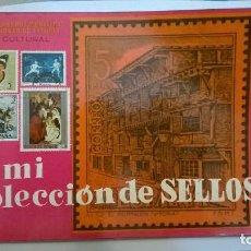 Francobolli: ALBUM MI COLECCION DE SELLOS DE CAJA DE AHORROS MUNICIPAL DE LA CIUDAD DE VITORIA. Lote 139901610