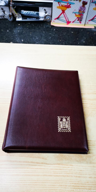 Sellos: Álbum de sellos filatelico | De piel |Gran calidad. - Foto 2 - 139953012