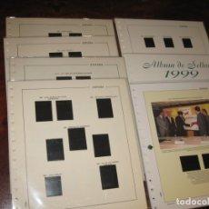 Sellos: LOTE DE 8 SUPLEMENTOS PARA SELLOS DE FILABO AÑOS 1977,79, 80, 81, 82, 83, 99 Y 2002 CON ESTUCHES NE. Lote 143826302