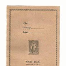 Sellos: FILATELIA SEVILLANA - SEVILLA ,ALBUM SELLOS PUBLICIDAD. Lote 144382382
