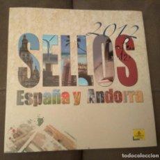 Sellos: SELLOS ESPAÑA Y ANDORRA 2012, ENVÍO GRATIS. Lote 146043958