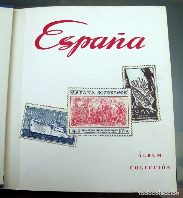 Sellos: ÁLBUM SELLOS ESPAÑA MAJÓ 1850-1977 - HOJAS A ESTRENAR - Foto 6 - 146570270