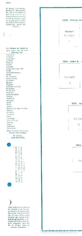 Sellos: ÁLBUM SELLOS ESPAÑA MAJÓ 1850-1977 - HOJAS A ESTRENAR - Foto 8 - 146570270