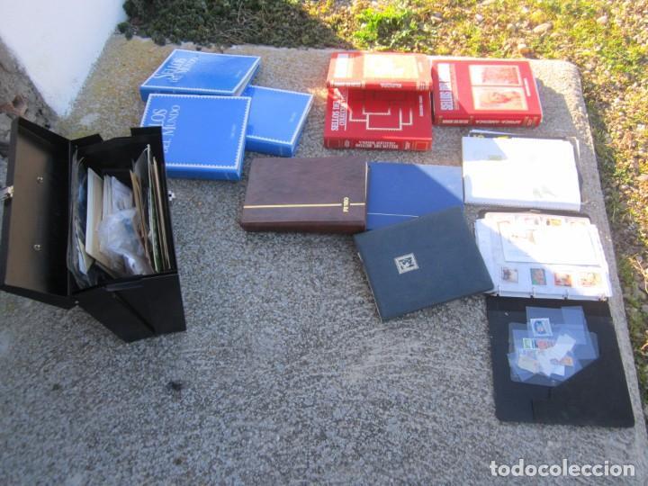 Sellos: Solo para valientes - Colección de sellos - lote álbumes - sueltos - carpetas - primer día - bolsas - Foto 4 - 146684950