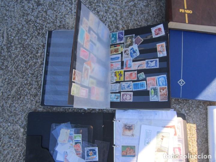 Sellos: Solo para valientes - Colección de sellos - lote álbumes - sueltos - carpetas - primer día - bolsas - Foto 6 - 146684950