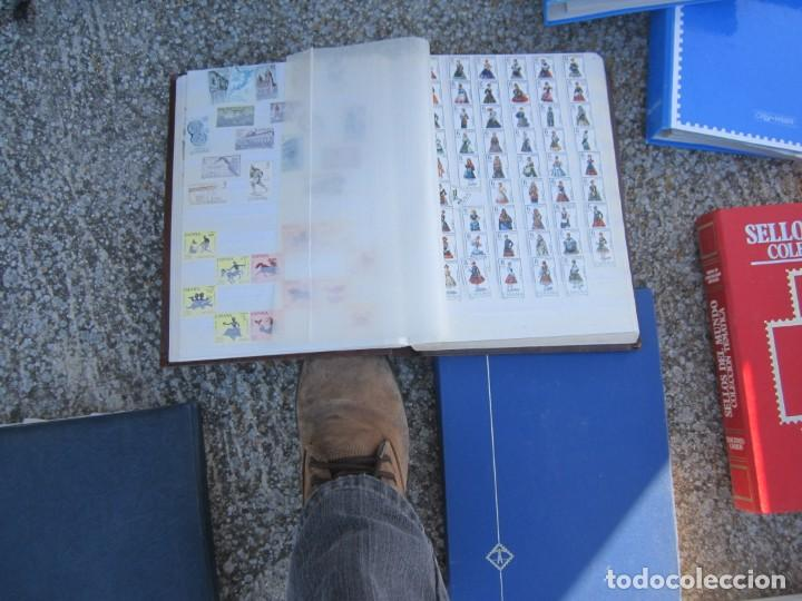 Sellos: Solo para valientes - Colección de sellos - lote álbumes - sueltos - carpetas - primer día - bolsas - Foto 7 - 146684950