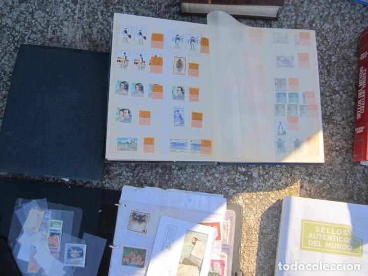 Sellos: Solo para valientes - Colección de sellos - lote álbumes - sueltos - carpetas - primer día - bolsas - Foto 9 - 146684950