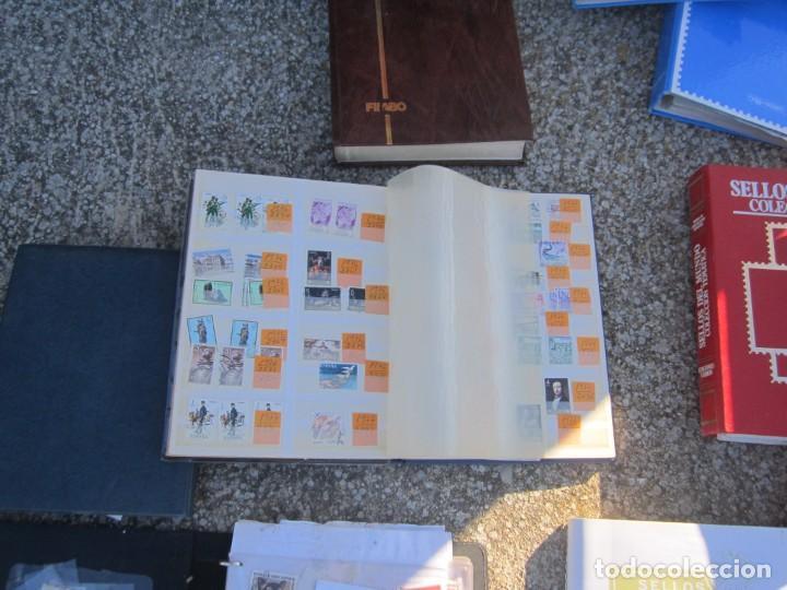 Sellos: Solo para valientes - Colección de sellos - lote álbumes - sueltos - carpetas - primer día - bolsas - Foto 11 - 146684950