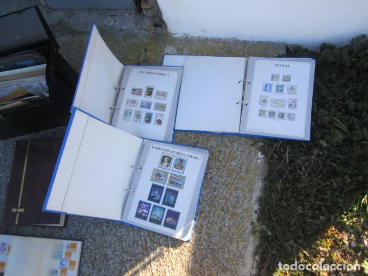 Sellos: Solo para valientes - Colección de sellos - lote álbumes - sueltos - carpetas - primer día - bolsas - Foto 13 - 146684950