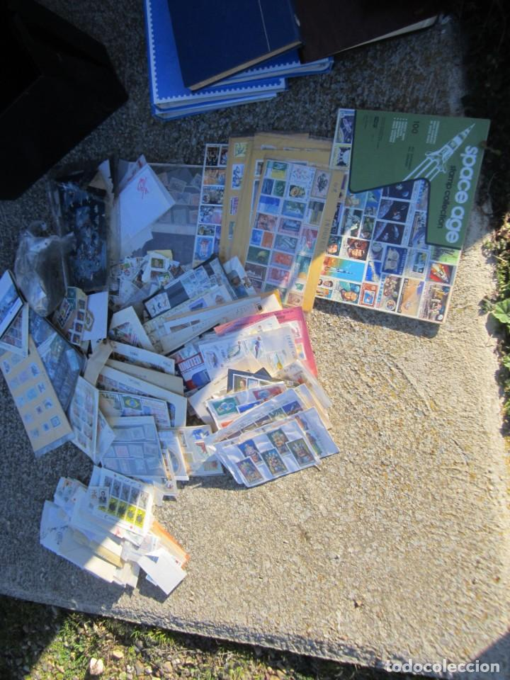 Sellos: Solo para valientes - Colección de sellos - lote álbumes - sueltos - carpetas - primer día - bolsas - Foto 15 - 146684950