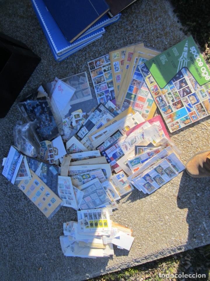 Sellos: Solo para valientes - Colección de sellos - lote álbumes - sueltos - carpetas - primer día - bolsas - Foto 16 - 146684950
