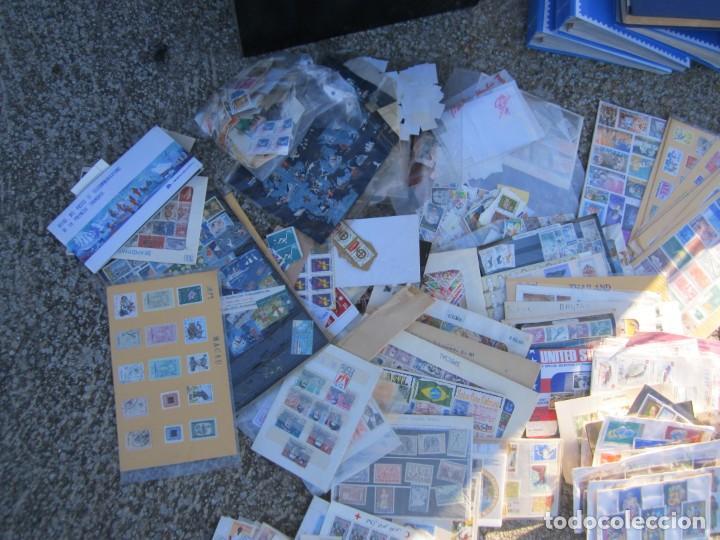 Sellos: Solo para valientes - Colección de sellos - lote álbumes - sueltos - carpetas - primer día - bolsas - Foto 17 - 146684950