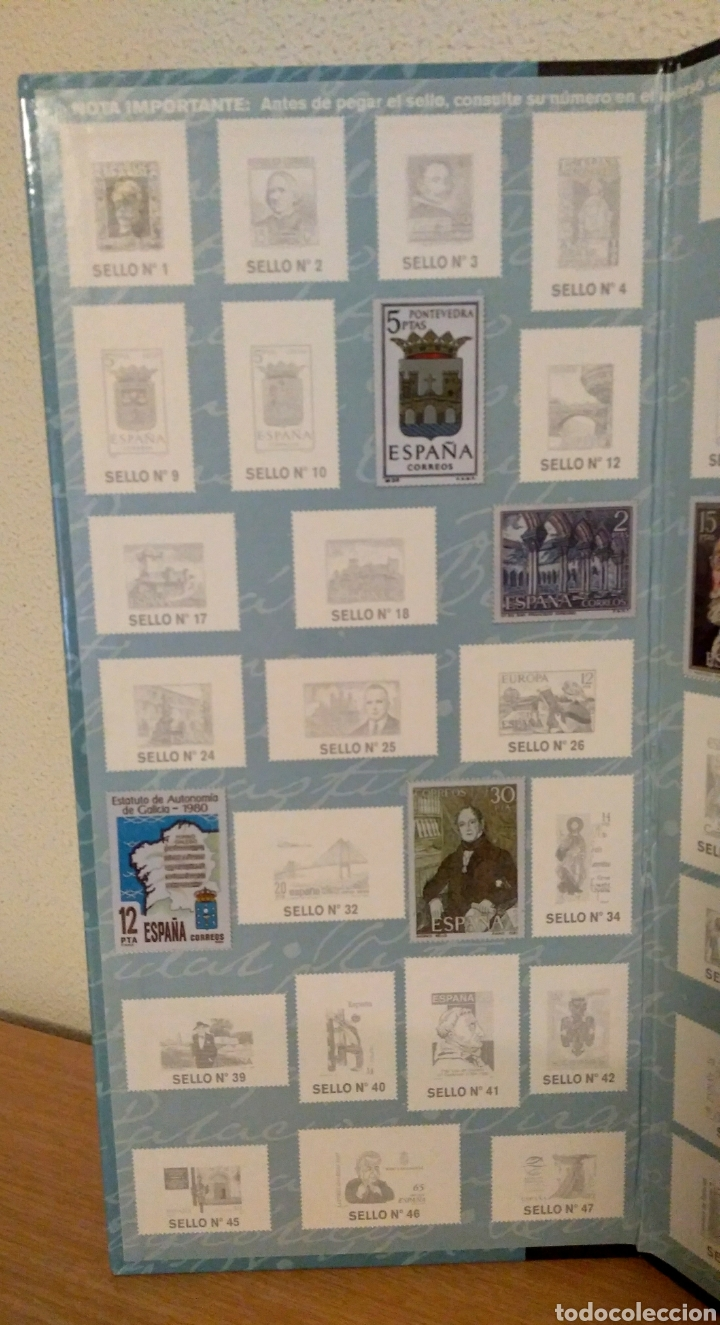 Sellos: Álbum Historia Postal de Galicia - Foto 5 - 148690754
