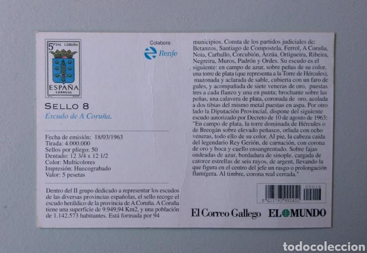 Sellos: Álbum Historia Postal de Galicia - Foto 12 - 148690754