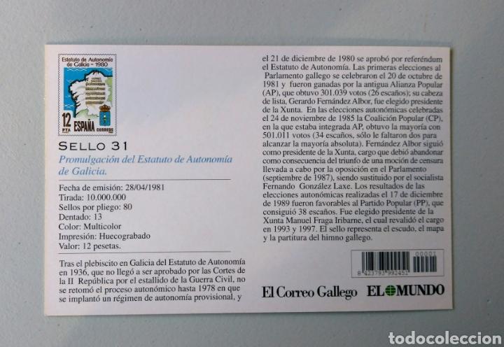 Sellos: Álbum Historia Postal de Galicia - Foto 23 - 148690754