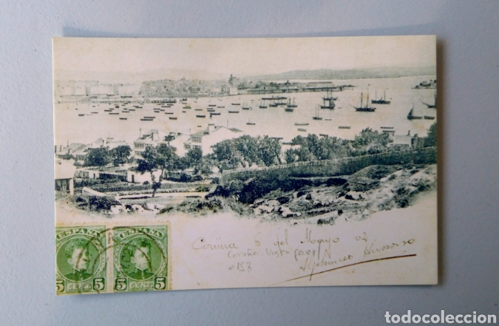 Sellos: Álbum Historia Postal de Galicia - Foto 24 - 148690754