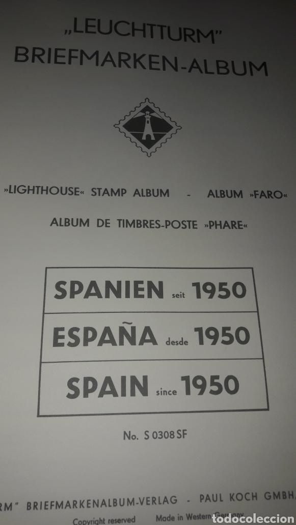 Sellos: Album España Faro Leuchtturm 1950/1964 DL Luxus estuches blancos - Foto 3 - 149302974