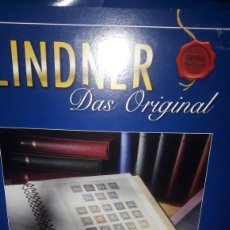 Sellos: DISTRIBUIDO LINDNER ALBUM ANILLAS. Lote 149307093