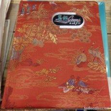 Sellos: PRECIOSO ALBUM PARA CLASIFICAR SELLOS DE CHINA, 5 PAGINAS. Lote 150082954