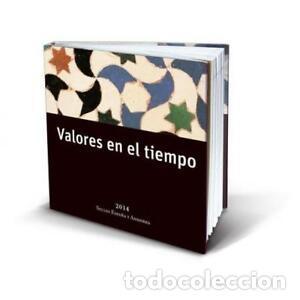 ESPAÑA 2014. ALBUM-LIBRO DE CORREOS 2014 CON SELLOS DE ESPAÑA Y ANDORRA (Sellos - Material Filatélico - Álbumes de Sellos)