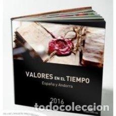 Sellos: ESPAÑA 2016. ALBUM-LIBRO DE CORREOS 2016 CON SELLOS DE ESPAÑA Y ANDORRA. BAJO FACIAL. Lote 153708502