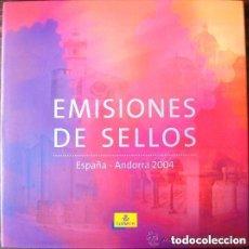 Sellos: ESPAÑA 2004. ALBUM DE SELLOS 2004 DE ESPAÑA Y ANDORRA. CON SELLOS.. Lote 154838046