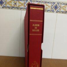 Sellos: ÁLBUM OLEGARIO DE 15 ANILLAS TIPO GLOBO(GRAN CAPACIDAD) USADO.. Lote 156227150
