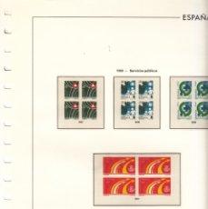 Sellos: OFERTA HOJAS EDIFIL 1993/4 BLOQUE CUATRO ESTUCHES TRANSPARENTES, TAPA PLASTICO SIN SELLOS PVP 105. Lote 25334324