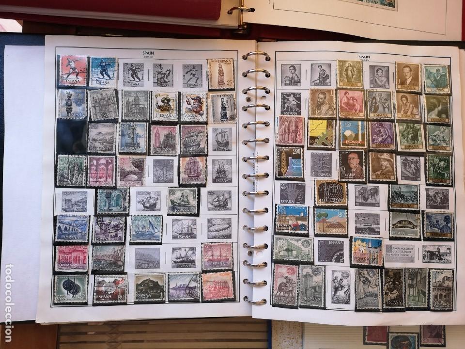 Sellos: IMPRESIONANTE ALBUNES DE SELLOS ANTIGUOS ,PERTENECIENTE A UNA COLECCION - Foto 4 - 158648406