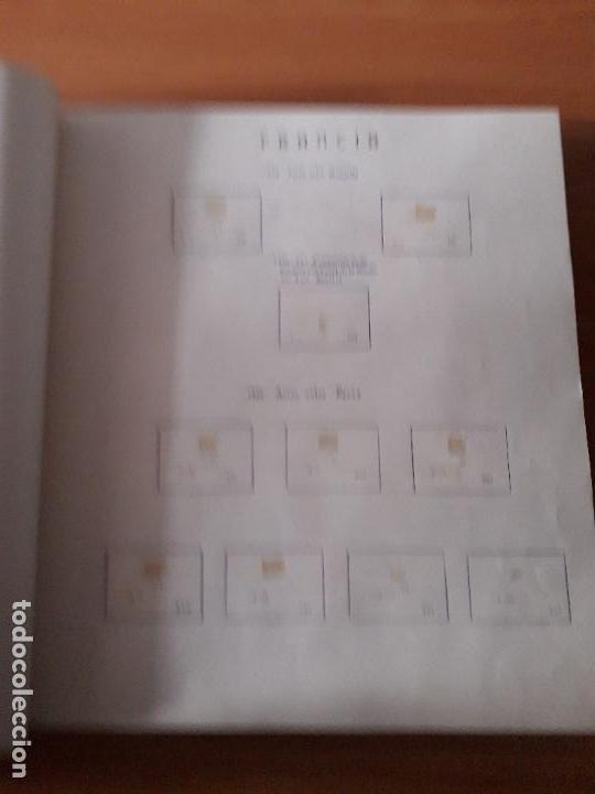 Sellos: ALBUM USADO DE FRANCIA CON HOJAS LEER DESCRIPCION - Foto 4 - 159408786
