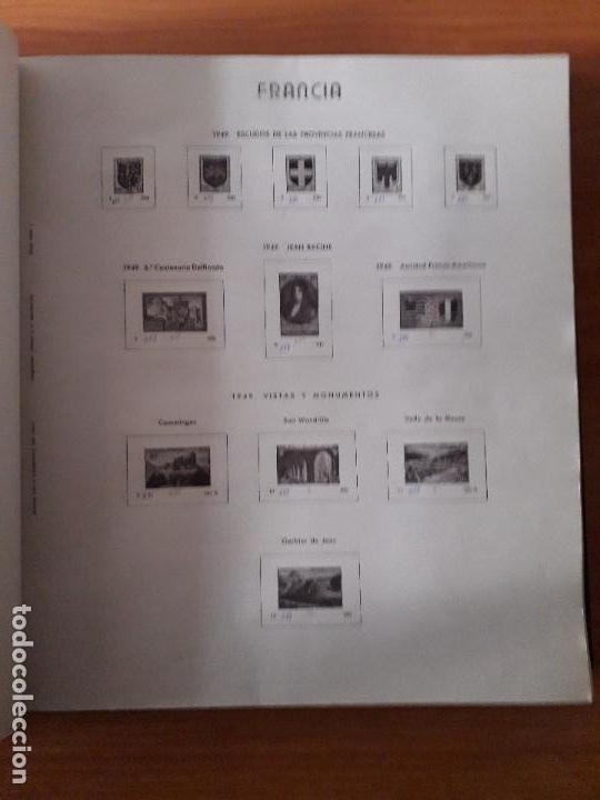 Sellos: ALBUM USADO DE FRANCIA CON HOJAS LEER DESCRIPCION - Foto 6 - 159408786