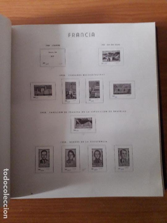 Sellos: ALBUM USADO DE FRANCIA CON HOJAS LEER DESCRIPCION - Foto 7 - 159408786