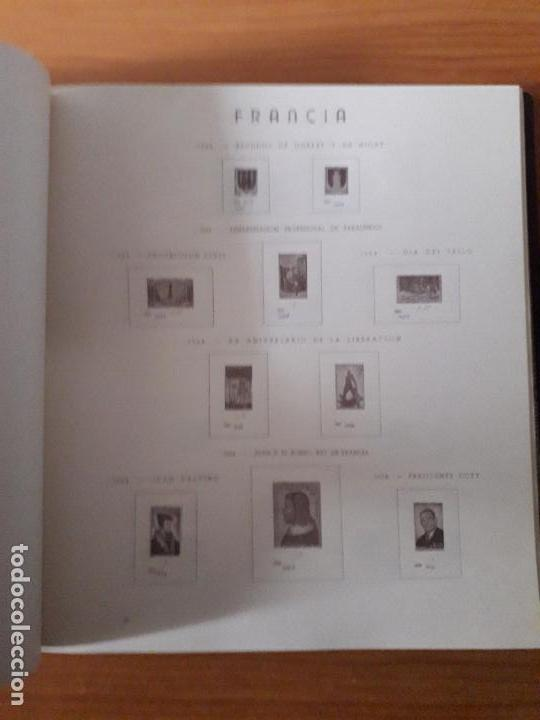 Sellos: ALBUM USADO DE FRANCIA CON HOJAS LEER DESCRIPCION - Foto 8 - 159408786
