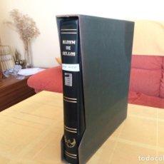 Sellos: LOTE456, ALBUM DE SEGUNDA MANO CON SUPLEMENTOS EDIFIL, BLOQUE DE CUATRO, SIN MONTAR, AÑOS 1982/1987,. Lote 163564346
