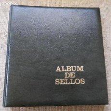 Sellos: ALBUM + SUPLEMENTOS ANDORRA 1948 A 2000. MONTADO TRANSPARENTE. LEER DESCRIPCION. Lote 163705002