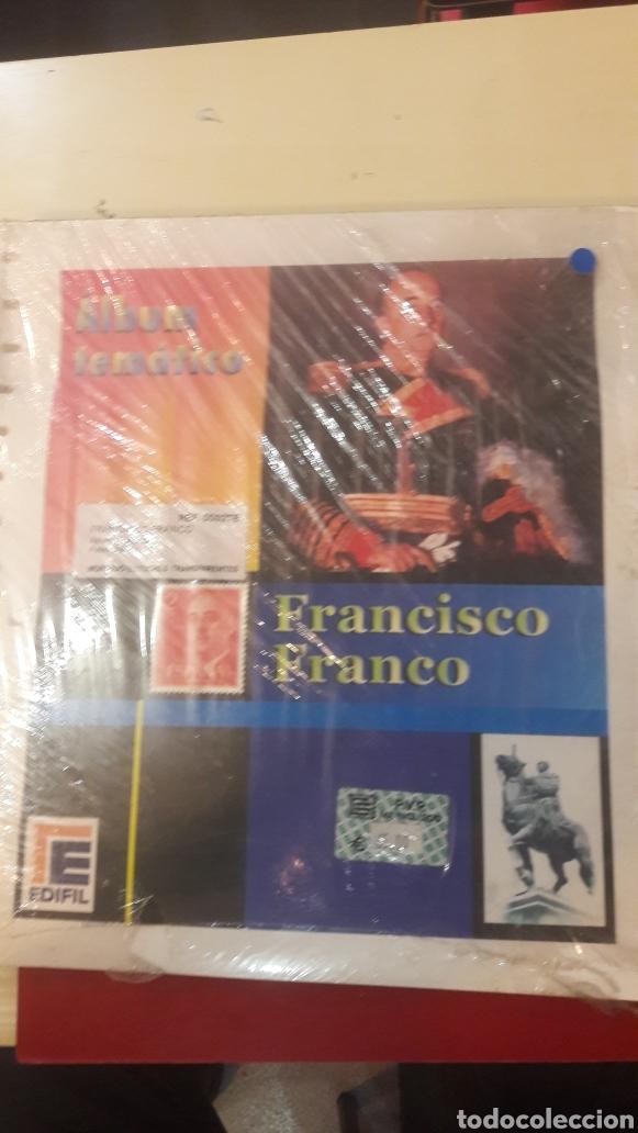 FRANCO HOJAS CON ESTUCHES PARA SELLOS (Sellos - Material Filatélico - Álbumes de Sellos)