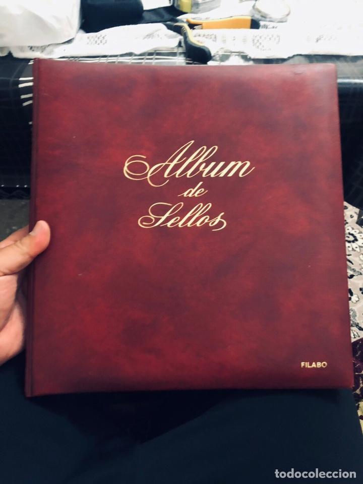 ÁLBUM DE SELLOS DE ESPAÑA FILABO AÑOS 1977 (Sellos - Material Filatélico - Álbumes de Sellos)