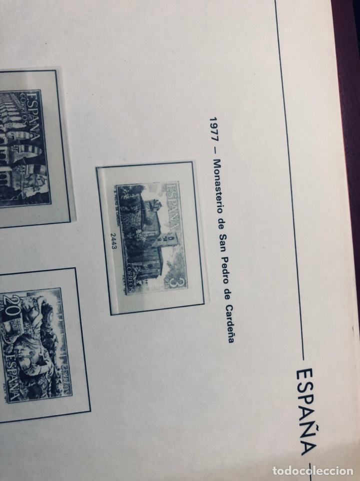 Sellos: Álbum de sellos de españa filabo años 1977 - Foto 5 - 166735672