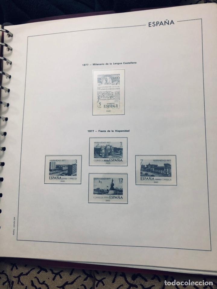 Sellos: Álbum de sellos de españa filabo años 1977 - Foto 7 - 166735672