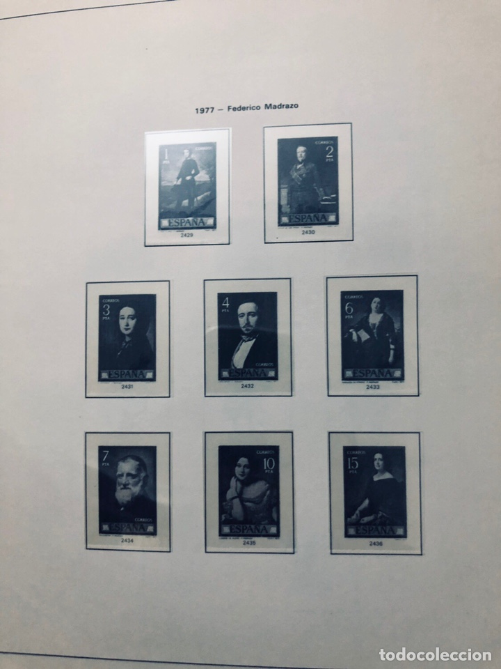 Sellos: Álbum de sellos de españa filabo años 1977 - Foto 9 - 166735672