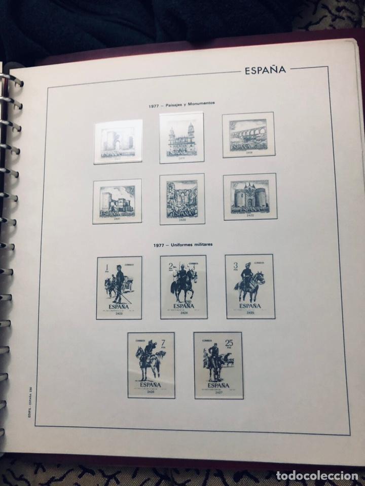 Sellos: Álbum de sellos de españa filabo años 1977 - Foto 10 - 166735672