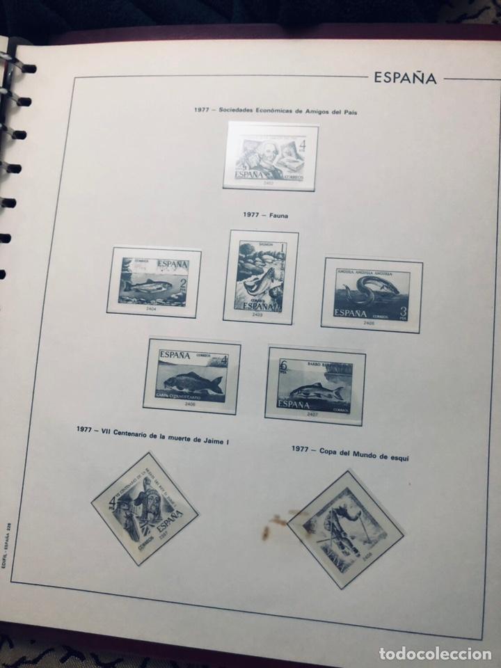 Sellos: Álbum de sellos de españa filabo años 1977 - Foto 11 - 166735672