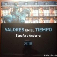 Sellos: LIBRO DE SELLOS 2018 ESPAÑA Y ANDORRA.. Lote 179781756