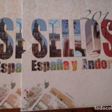 Sellos: 2012-ESPAÑA Y ANDORRA EN LIBRO-ÁLBUM SERVICIO FILATÉLICO DE CORREOS - SIN SELLOS. Lote 169823592