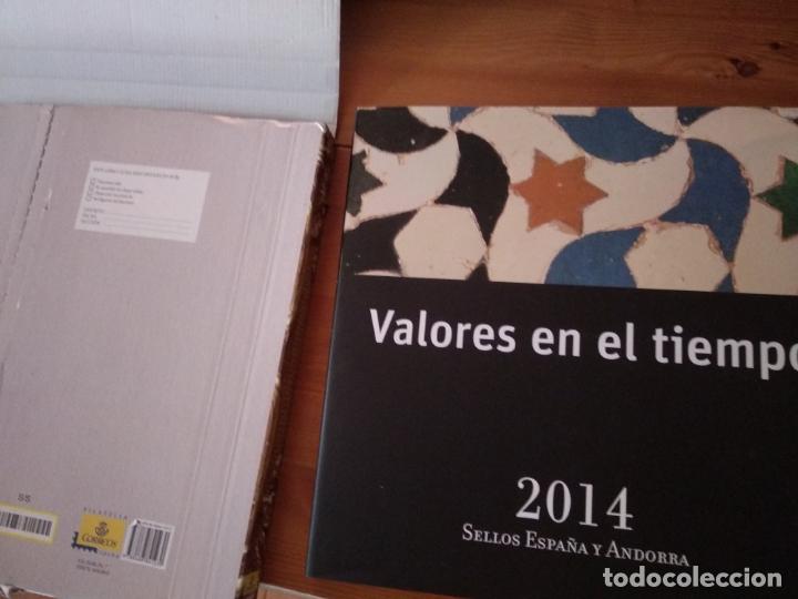 2014-ESPAÑA Y ANDORRA EN LIBRO-ÁLBUM SERVICIO FILATÉLICO DE CORREOS - SIN SELLOS (Sellos - Material Filatélico - Álbumes de Sellos)