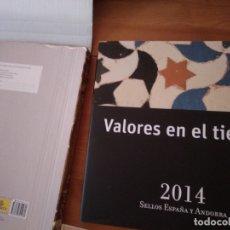 Sellos: 2014-ESPAÑA Y ANDORRA EN LIBRO-ÁLBUM SERVICIO FILATÉLICO DE CORREOS - SIN SELLOS. Lote 169823788
